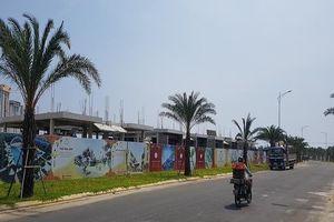8 căn biệt thự của Dana Home Land phải dừng thi công 30 ngày
