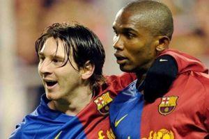 Eto'o: 'Barca thành công là nhờ tôi, không phải Messi'