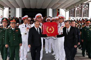 Tiễn đưa Trung tướng Đồng Sỹ Nguyên về nơi an nghỉ cuối cùng