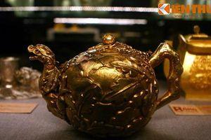 Lóa mắt trước bộ sưu tập rồng bằng vàng khối nhà Nguyễn