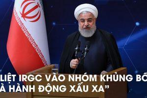 Iran lên án, trả đũa 'hành động xấu xa' của Mỹ,