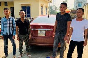 4 đối tượng bịt mặt đi ô tô không biển số tấn công chủ tịch xã