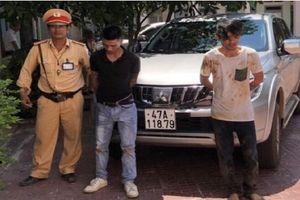 Bắt hai đối tượng trộm xe công tại Trung tâm Y tế thị xã Quảng Trị