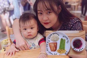 Mẹ Đà Nẵng chia sẻ trọn bộ thực đơn ăn dặm cho bé 7-8 tháng tuổi, mẹ khỏi cần vắt óc nghĩ mỗi ngày