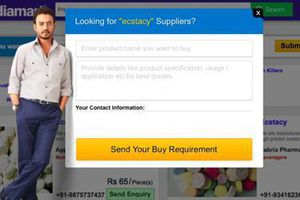 Trang thương mại điện tử Ấn Độ bị cáo buộc buôn ma túy