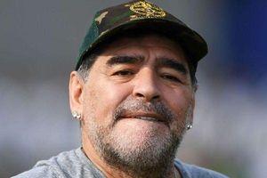 'Cậu bé Vàng' Maradona bị phạt vì công khai chỉ trích hành động của Mỹ ở Venezuela