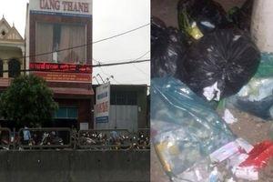 Phòng khám Quang Thành xả rác thải y tế nguy hại ra môi trường?