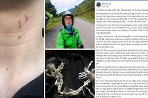 Chàng trai lên mạng kể chuyện bị tra tấn suốt 4 tiếng khi khám phá rừng Tam Đảo
