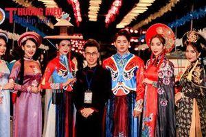 'Áo dài Sen' rực rỡ trong đêm diễn thứ 3 của Festival Văn hóa nghệ thuật truyền thống Việt