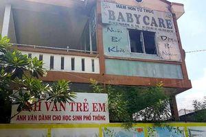 Trường mầm non có hơn 100 trẻ ở Vĩnh Long bất ngờ bốc cháy