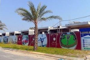 Yêu cầu dừng thi công 8 căn biệt thự xây dựng không phép tại Quảng Nam