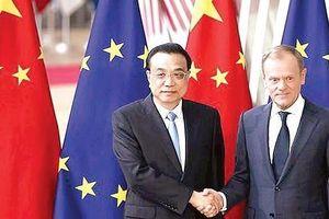 Hội nghị thượng đỉnh Trung Quốc- EU đạt đột phá