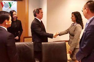 Ông Nguyễn Văn Bình thăm và làm việc tại Hoa Kỳ
