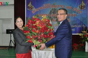 ĐSQ Việt Nam, Lào tại Trung Quốc giao lưu nhân Tết cổ truyền của Lào
