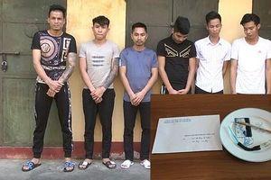 26 thanh niên mừng sinh nhật bằng ma túy tại quán karaoke