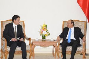 Thủ tướng tiếp đoàn chuyên gia môi trường Nhật Bản