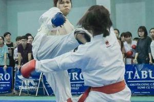 Kịch tính giải vô địch Karate tại Hà Nội