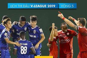 Điểm binh vòng 5 V-League 2019: Quyết chiến ở nhóm cuối bảng