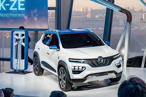 Xe crossover điện giá rẻ - Renault City K-ZE sắp ra mắt