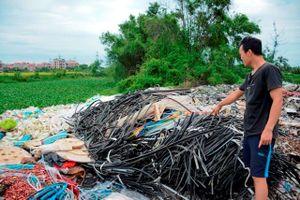 Ô nhiễm kéo dài ở xã Văn Môn (huyện Yên Phong, tỉnh Bắc Ninh): Lo cho tương lai thế hệ trẻ