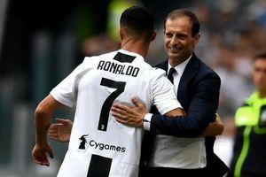 HLV Allegri: 'Ronaldo đã thể hiện một đẳng cấp khác hẳn'