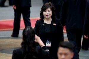Nữ 'phó tướng ngoại giao' Triều Tiên tham gia đàm phán với Mỹ được cất nhắc