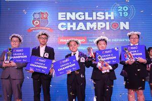English Champion 2019: Tỏa sáng tài năng nhí