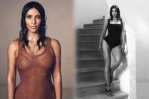 Kim 'siêu vòng ba' eo thon dáng nuột nà trên bìa Vogue