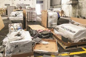 Lật tẩy thủ đoạn làm giả giấy phép nhập khẩu hàng chục lô hàng thiết bị y tế