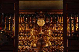 Ngắm bức phù điêu Quốc tổ Lạc Long Quân, niềm tự hào của lễ hội Bình Đà