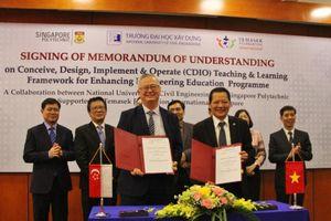 Singapore hợp tác triển khai khung chương trình CDIO cho 5 trường Đại học kỹ thuật hàng đầu Việt Nam