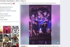 Xuất hiện clip ghi lại cảnh nam thanh nữ tú ăn chơi thác loạn, sử dụng ma túy nghi trong quán Karaoke của Phúc XO