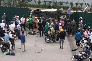 Thiếu nữ bị xe Mercedes tông dưới chân cầu vượt Mai Dịch chuyển viện trong tình trạng hôn mê sâu