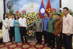 Mong muốn Đại sứ quán Lào chung tay phát triển báo Thời Đại điện tử tiếng Lào