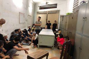 TP.HCM: Hàng chục dân bay phê ma túy trong quán bar, nhà hàng, khách sạn Đông Kinh