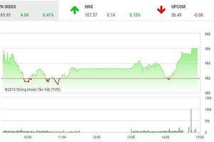 Phiên chiều 11/4: VIC kéo thẳng đứng VN-Index