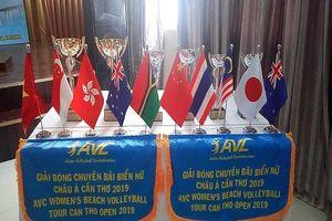 11 quốc gia tranh tài giải bóng chuyền bãi biển nữ châu Á
