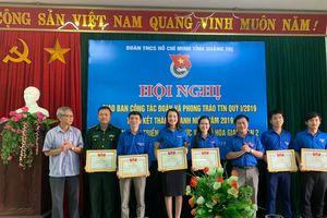 Tuổi trẻ BĐBP Quảng Trị tham gia tích cực, hiệu quả trong Tháng Thanh niên 2019