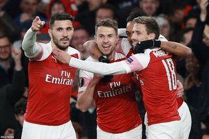 Hạ gọn Napoli, Arsenal rộng cửa vào bán kết Europa League