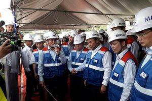 Thủ tướng Nguyễn Xuân Phúc thị sát dự án metro Bến Thành – Suối Tiên