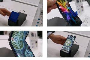 Sharp hé lộ nguyên mẫu smartphone gập kiểu 'vỏ sò'