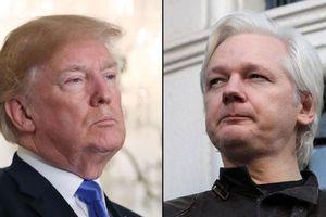 Phát ngôn bất nhất gây sốc của ông Trump về WikiLeaks