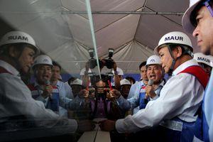 Thủ tướng Nguyễn Xuân Phúc thị sát tuyến metro Bến Thành - Suối Tiên
