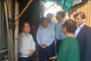 Chủ tịch Phan Ngọc Thọ 'sát cánh' cùng người dân khu vực Thượng thành