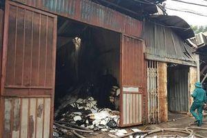 4 khu xưởng bị cháy tại Trung Văn xây dựng trên đất lấn chiếm