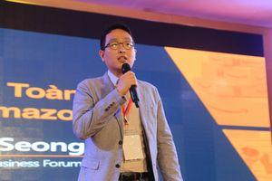 Đại diện Amazon: 'Tôi đến Việt Nam không phải để nổi tiếng mà để làm cho hàng Việt Nam nổi tiếng'