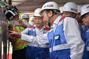 Thủ tướng thị sát tuyến Metro Bến Thành - Suối Tiên