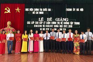 Hà Nội: Thêm 178 cán bộ có bằng cao cấp lý luận chính trị
