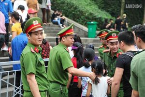 Giỗ Tổ Hùng Vương: Hơn 1.000 chiến sĩ công an, quân đội bảo vệ an ninh