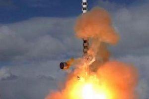 Putin tiết lộ về tên lửa hạt nhân 220 tấn mạnh nhất thế giới của Nga